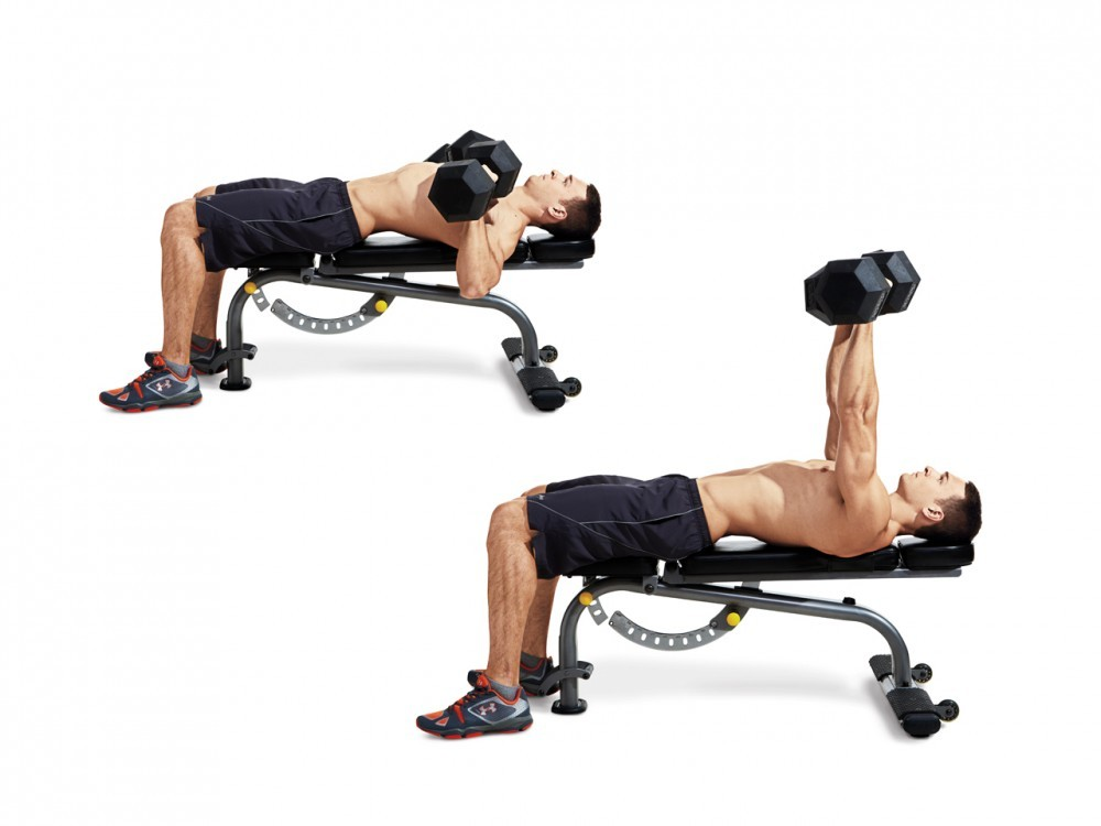 Beginner S Dumbbell Routine Work Out At Home Work Out